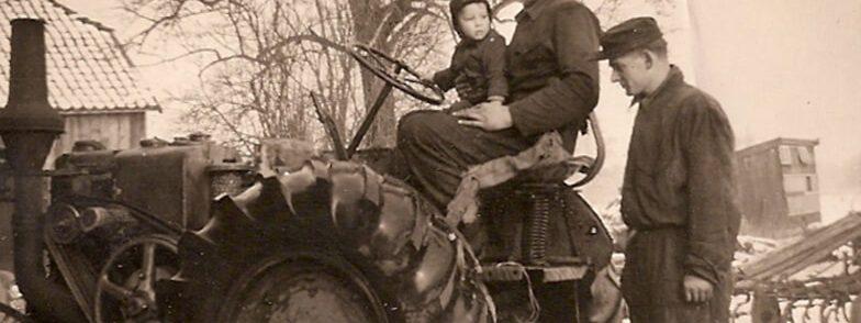 geschiedenis tractor